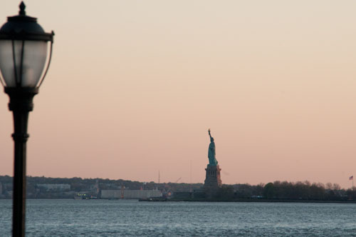 Statue of Liberty from the Esplanade