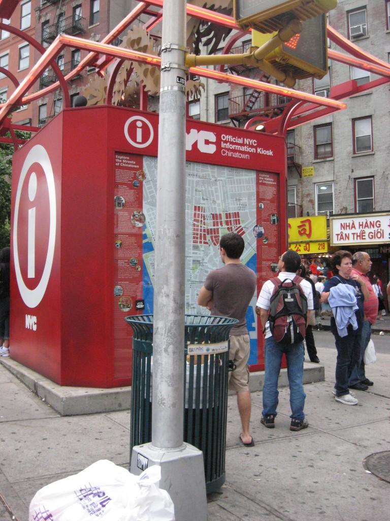 Chinatown Information Kiosk