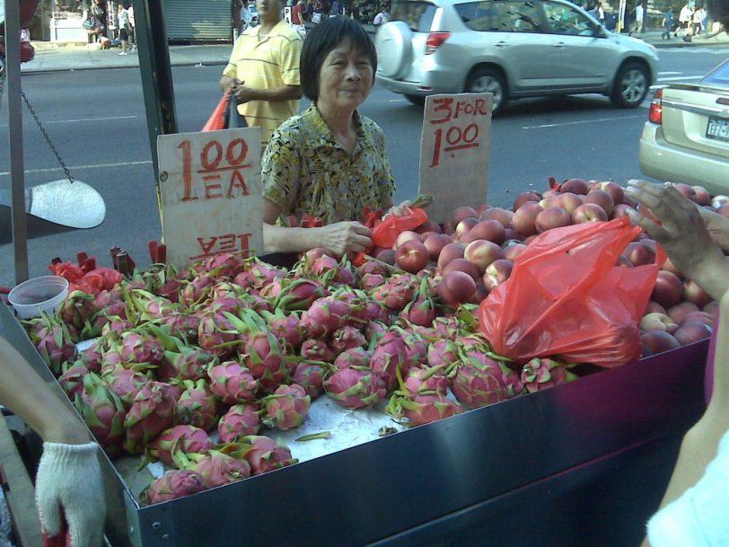 new york city Chinatown vendor