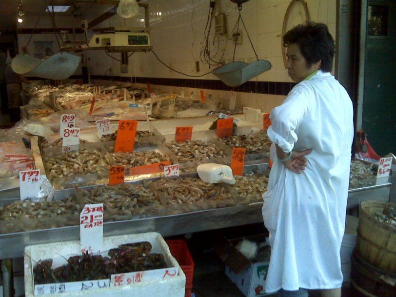 fish markets in Chinatown