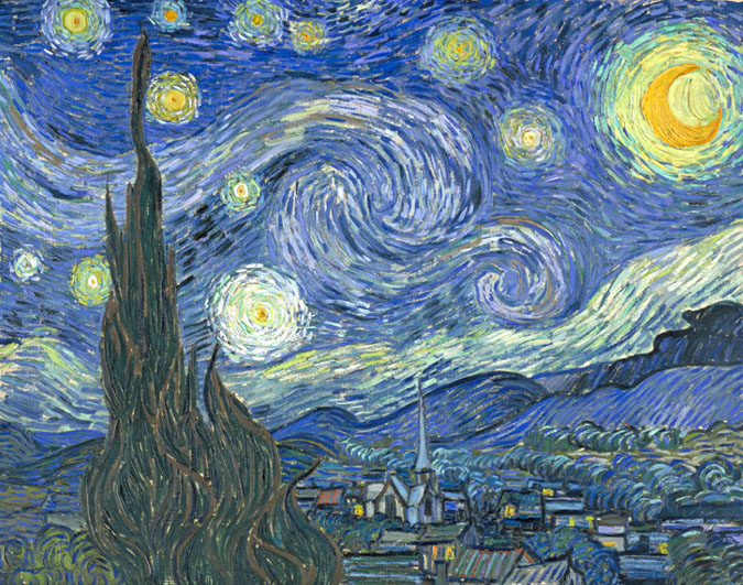 New York City Museum Guide Vincent Van Gogh The Starry Night