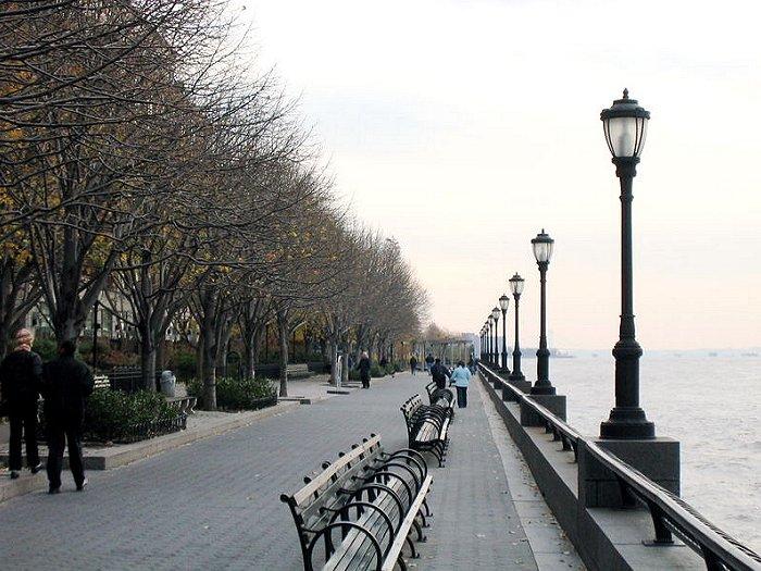 Esplanade at Battery Park