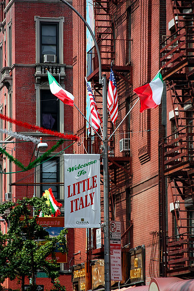 New York. Little Italy