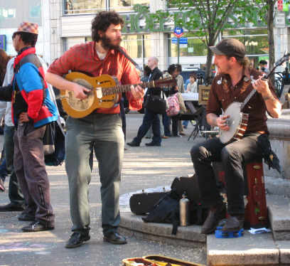 Union Square performers