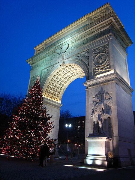 Arch Tree Washington Square Park, New York.JPG